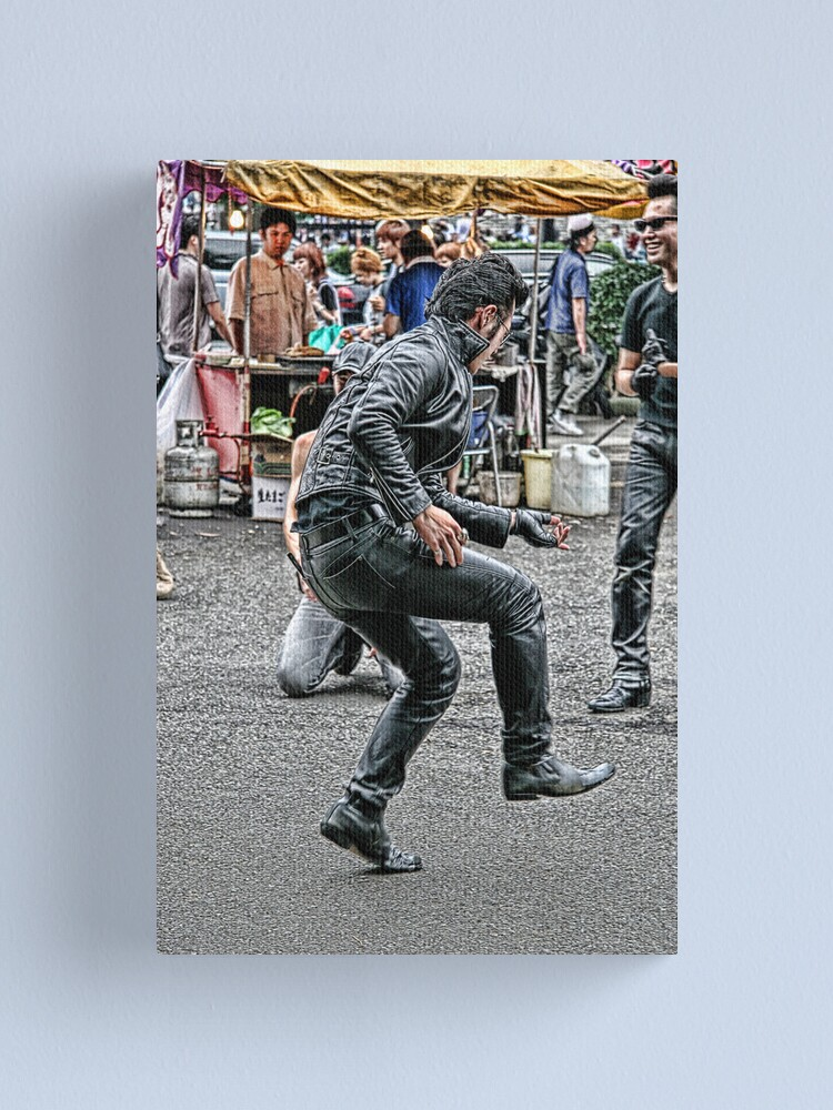 Alternate view of Tokyo Rock and Roll Canvas Print