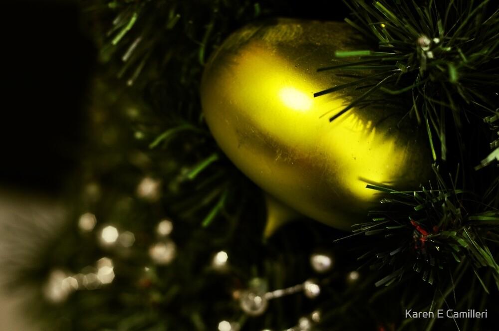 Christmas Bauble by Karen E Camilleri