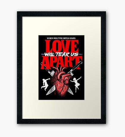 Apart Framed Print