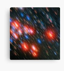 Cosmic brush Canvas Print