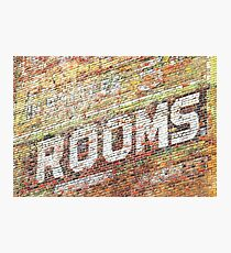 Rooms  Photographic Print