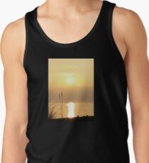 Sun Setting Over the Bristol Channel Tank Top