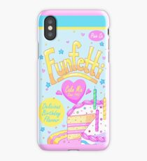 Funfetti Cake Mix  iPhone Case
