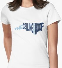 The Ceiling Is The Roof (Shape) (Light Blue/Dark Blue) T-Shirt