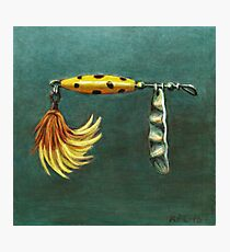 Feather Lure Photographic Print