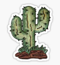 cactus patch Sticker