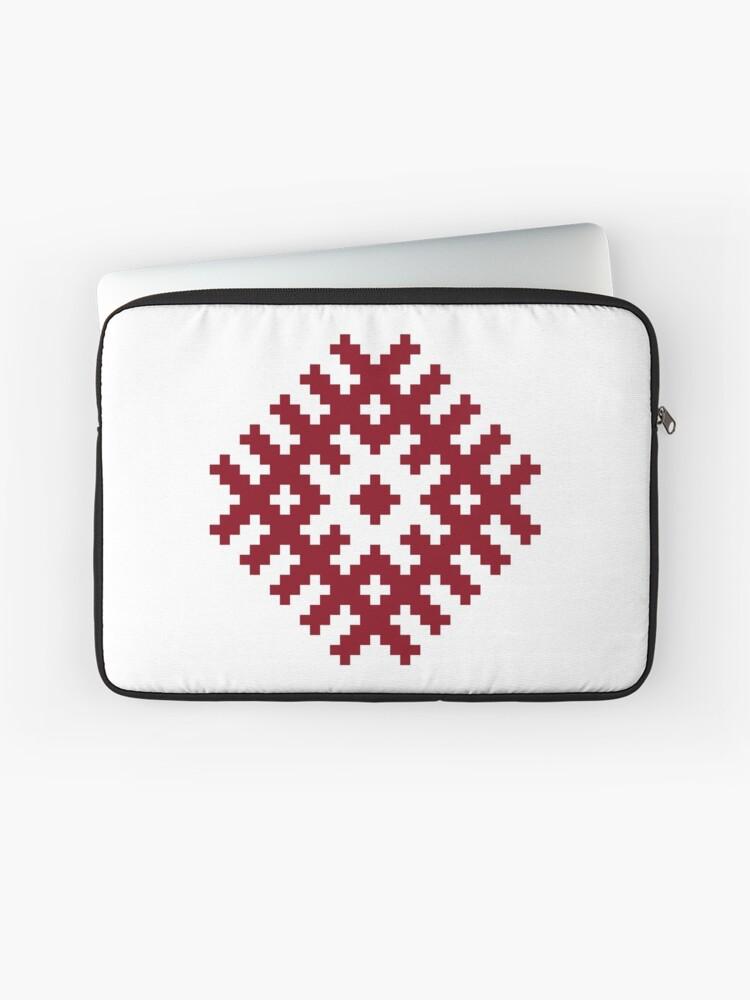 Ozolins Ancient Latvian Symbol Laptop Sleeve