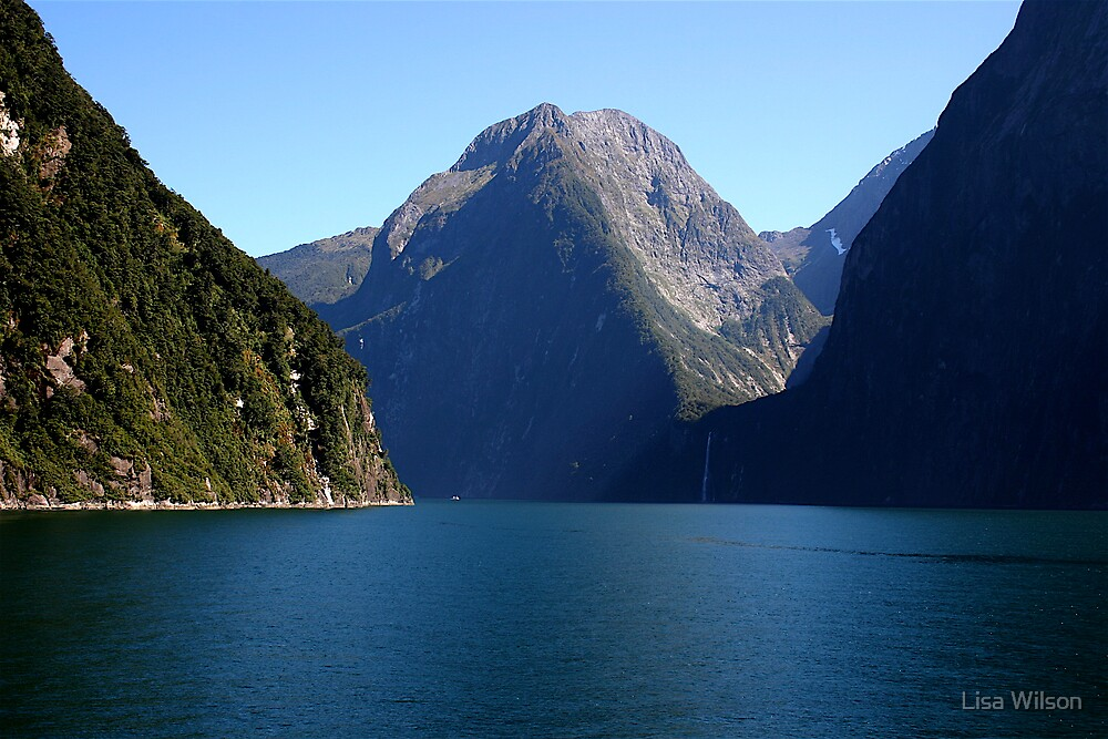 Milford Sound, New Zealand by Lisa Wilson