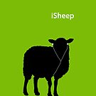 iSheep (Green) by stoopiditees