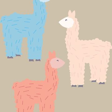 Llama Gumdrops by nathannewg