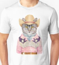Country Cat Unisex T-Shirt