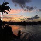 Runaway Bay Sunset. Queensland, Australia by Ralph de Zilva