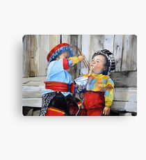 Tibetan Noodles Canvas Print