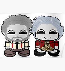 Grandpa & Grandma Yo O'BABYBOT Toy Robot 1.0 Poster