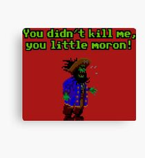LeChuck is back Canvas Print