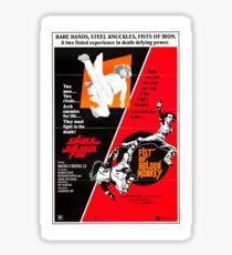 Kung Fu Double Bill Sticker