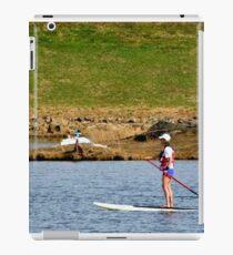 Paddleboarding on Chris Greene Lake   ^ iPad Case/Skin