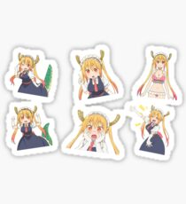 Tohru - Miss Kobayashi's Dragon Maid Sticker set Sticker