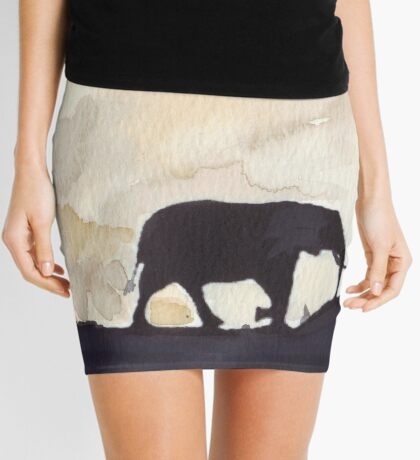 Silhouettes of Africa  Mini Skirt