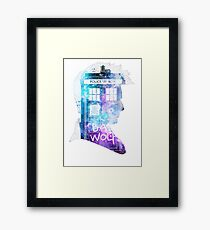 doctor who-David Tennant Framed Print