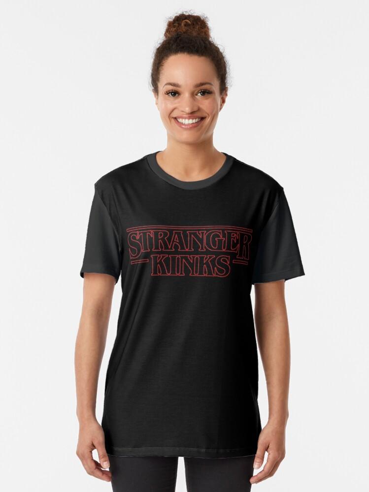 Alternative Ansicht von Fremde Kinks Grafik T-Shirt