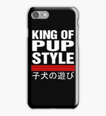 King Of Pup Style iPhone Case/Skin