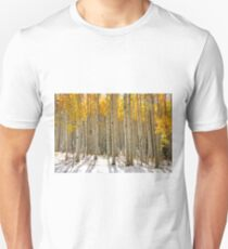 Mix of autumn and winter  Unisex T-Shirt