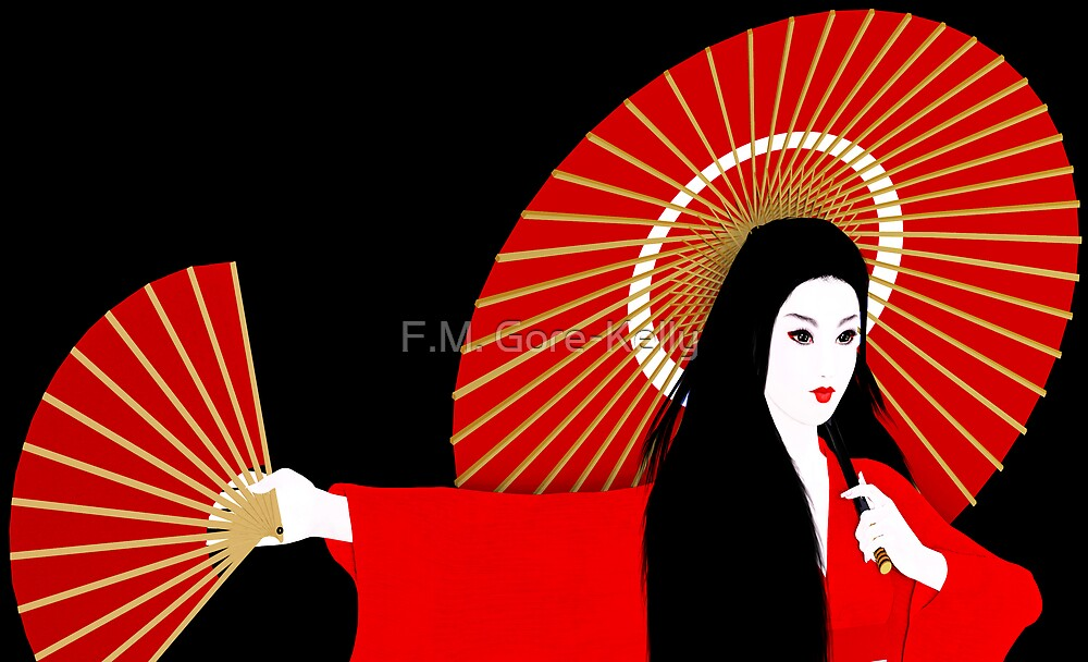 Red Geisha by F.M. Gore-Kelly
