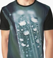 drops with green grass Graphic T-Shirt
