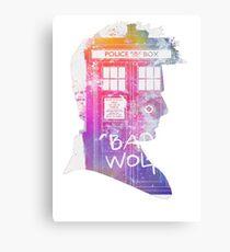 doctor who-David Tennant Canvas Print