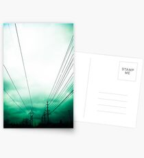 Power Clouds Postcards