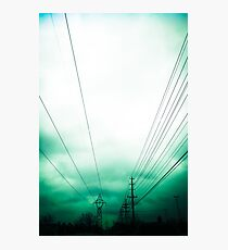 Power Clouds Photographic Print