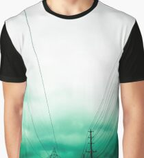 Power Clouds Graphic T-Shirt
