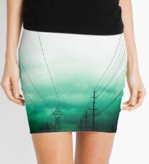 Power Clouds Mini Skirt