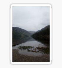 Upper lake, Wicklow mountains 2 Sticker