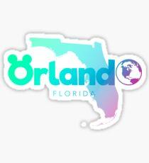 Orlando, FL Sticker