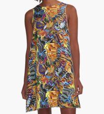 Mein bunter Harlekin A-Line Dress