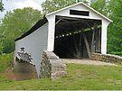 Union Covered Bridge, Missouri by Graeme  Hyde