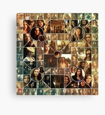 The Vampire Diaries - Petrova Doppelganger Collage Canvas Print