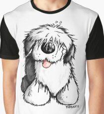 Bobbie Old English Sheepdog Graphic T-Shirt