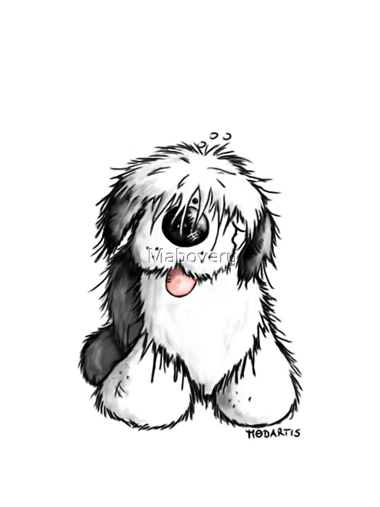 Bobbie Old English Sheepdog by Mabovery