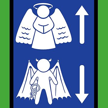 Metaphysical Direction Sign by Serpentine16