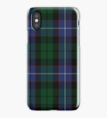 Russell or Mitchell or Hunter or Galbraith Clan/Family Tartan  iPhone Case