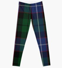 Russell or Mitchell or Hunter or Galbraith Clan/Family Tartan  Leggings