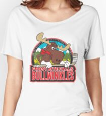 Frost Bite Falls Bullwinkles Women's Relaxed Fit T-Shirt