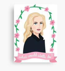 What would Stella do? - Stella Gibson (The Fall) Canvas Print
