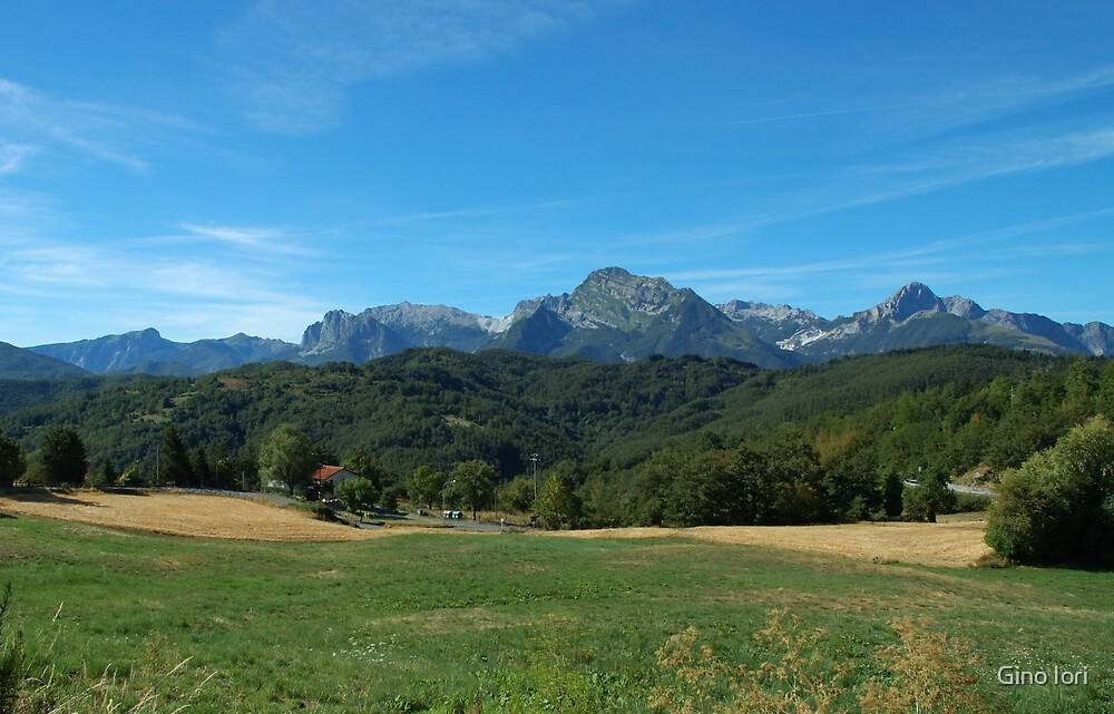 View from Giucugnano by Gino Iori
