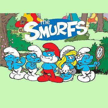the smurfs by unyilusrok