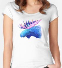 Blue Moose Women's Fitted Scoop T-Shirt