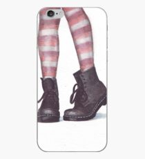 Dr Martens boots by Helga McLeod iPhone Case